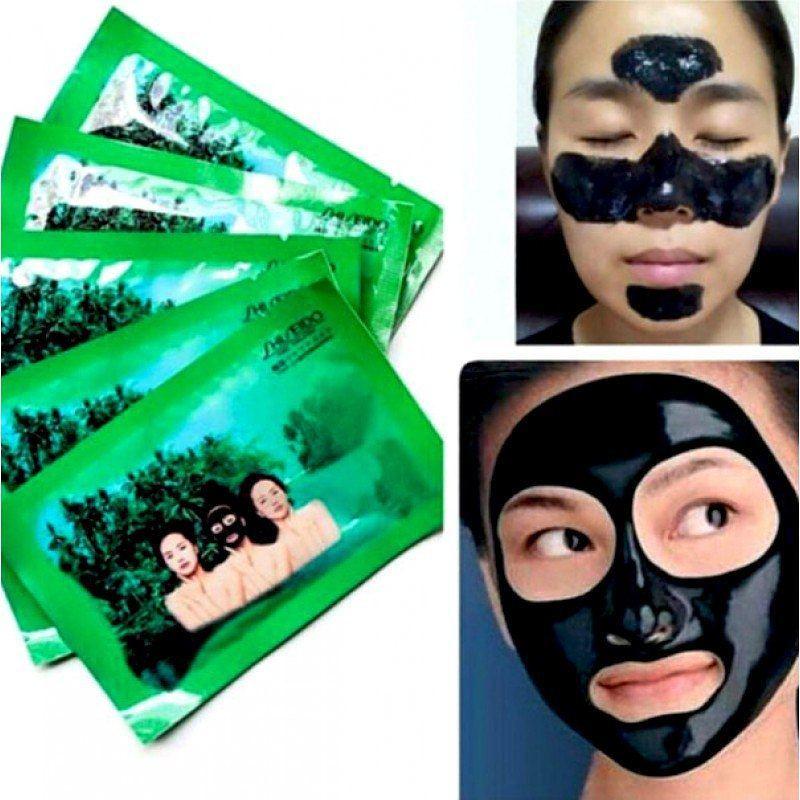 Черная маска-пленка против черных точек Shiseido 20 г