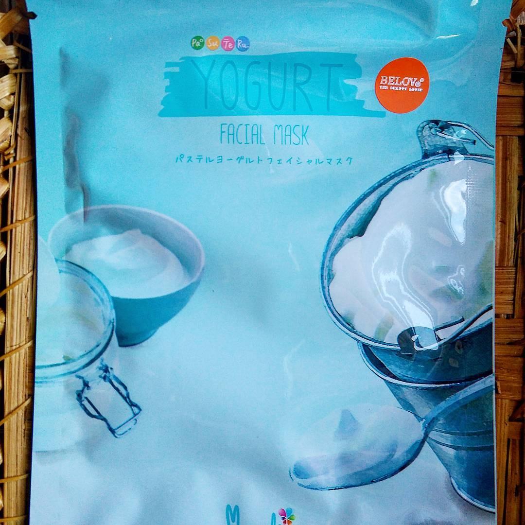 Тканевая маска с йогуртом