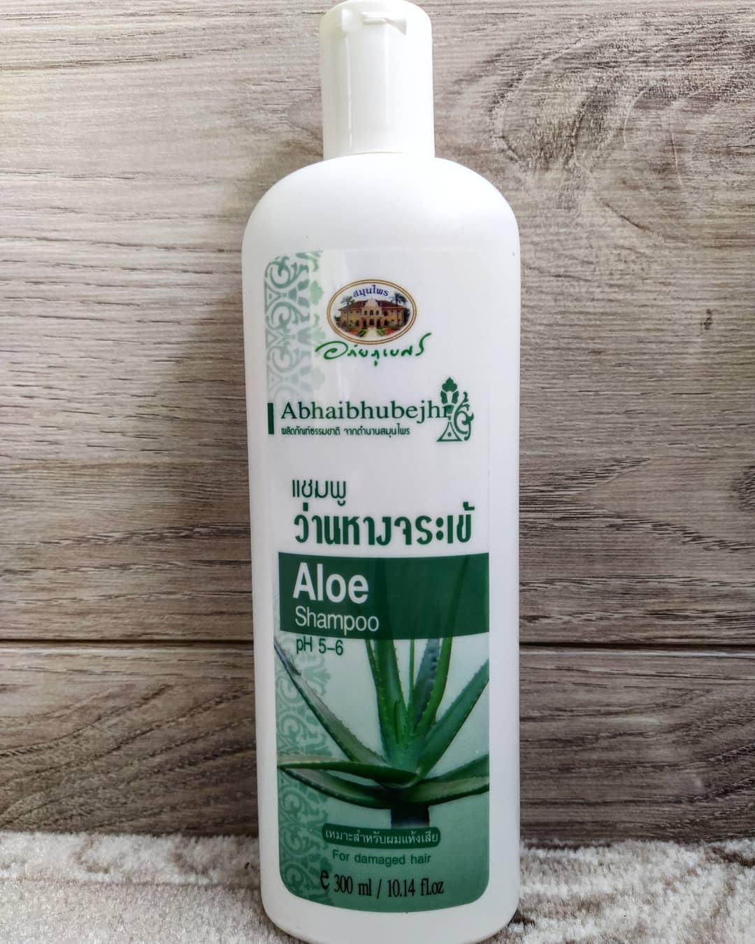 Шампунь с Алоэ Вера Abhai Herb pH 5.6 300мл