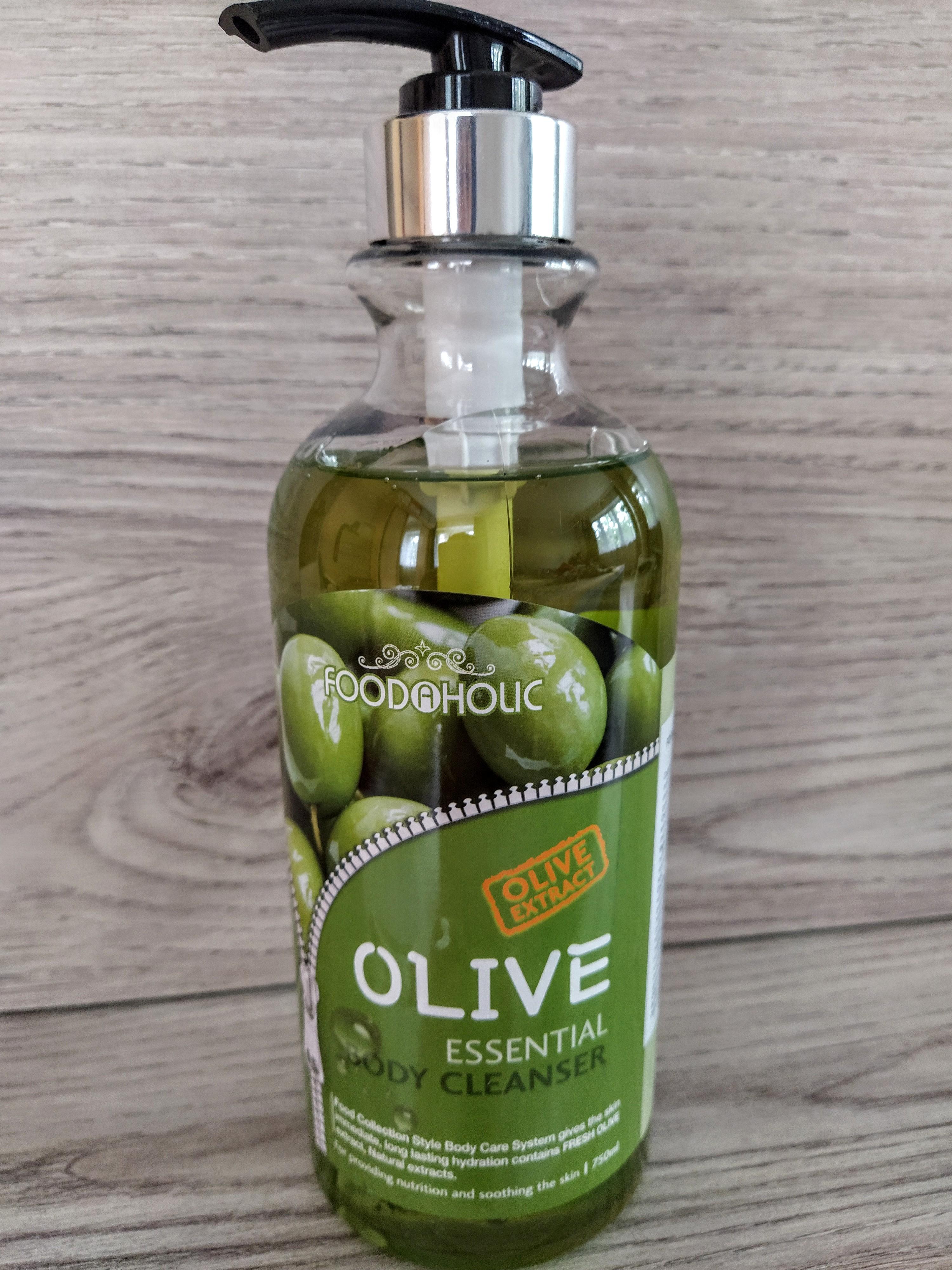 Гель для душа с оливой FoodAHolic 750 мл