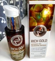 Сыворотка с маточным молочком, золотом и прополисом RICH GOLD 30 мл