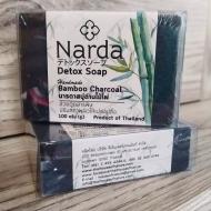 Бамбуковое черное мыло Narda 100 г