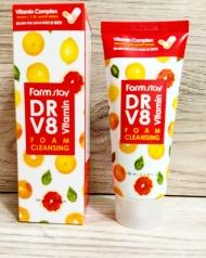 Очищающая пенка с комплексом витаминов