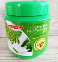 Маска для волос рисовым молочком Carebeau