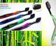 Зубная щетка из бамбукового угля