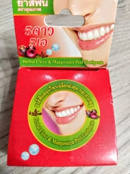 Круглая зубная паста с Мангостином
