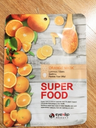 Тканевая маска Super Food с апельсином