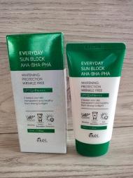 Солнцезащитный крем Ekel SPF 50+ (зеленый)