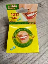 Круглая зубная паста с Манго