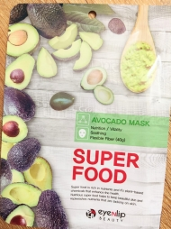 Тканевая маска Super Food с Авокадо